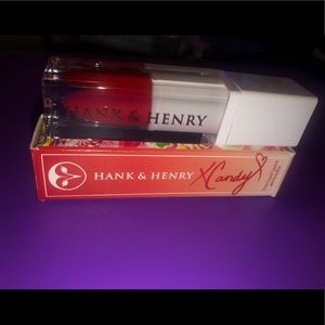 Hank and Henry Candy Apple lippie